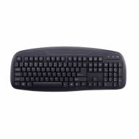 KB816 USB Wired Office Ergonomic Keyboard